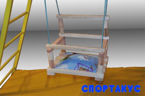 Купить домашний детский спорткомплекс Богатырьв квартиру, производитель Украина, Спортакус