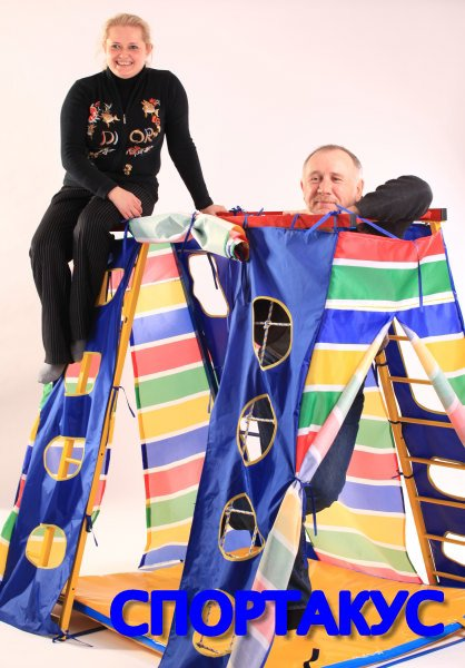 детская игровая палатка для спорткомплекса в квартире