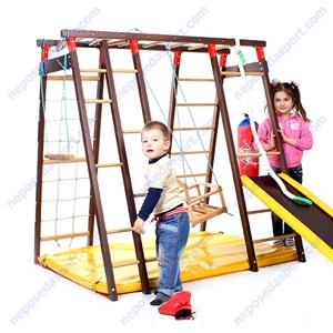 Деревянный детский спортивный комплекс Чемпион